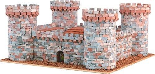 DOMUS-KITS Domus Kits40901 2570 Pieces Medieval Castellum 1 Castles Model, Scale 1:145, -