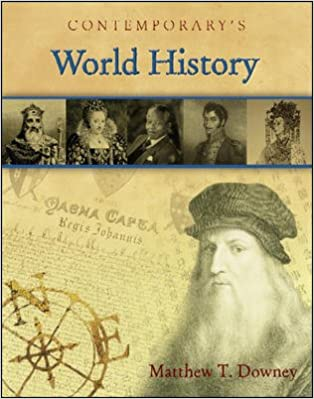 Book Contemporary's World History (With CD)