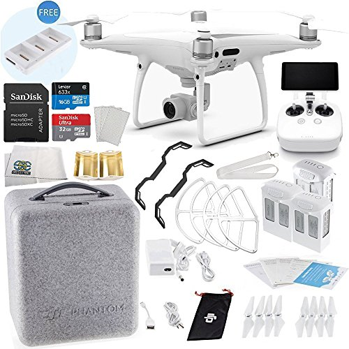 DJI Phantom 4 PRO+ PLUS Quadcopter Ultimate Flyer Bundle