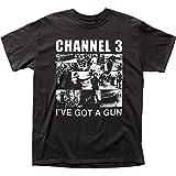 Channel 3 I've Got A Gun Traditional Fit 18/1 Cotton Tee (Medium)