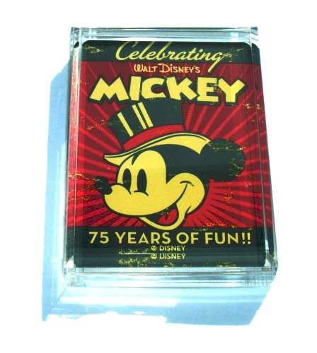 Mickey Mouse 75th Celebrate paperweight or display piece