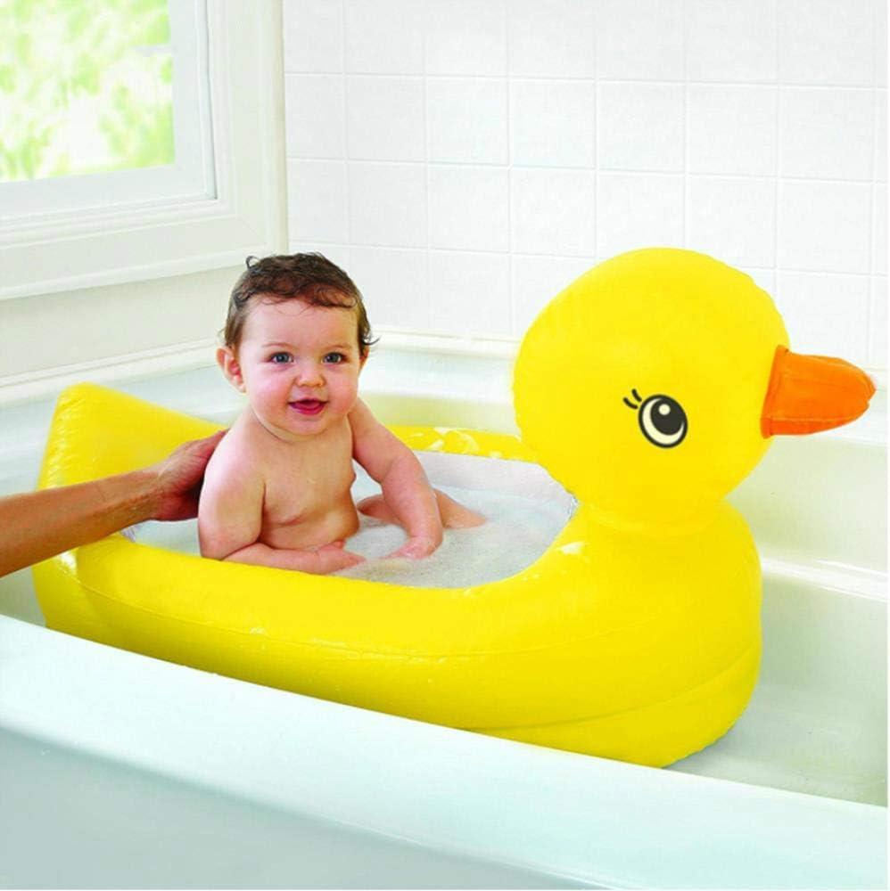 Pato amarillo Rectangular Niño Piscina inflable Plástico engrosado ...