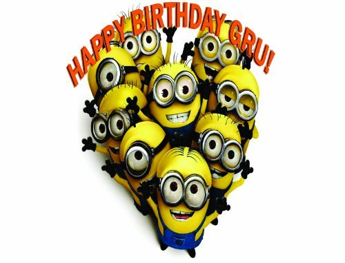 Customized Despicable Me 2 Minions Cake Toppers Frosting Sheets Edible Image -