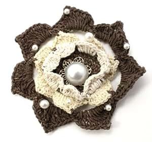 Laliberi Julie Comstock Embellish a Bloom Kit, Light Crochet