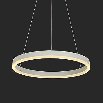 Modern LED Pendelleuchte Kreis Ring Design 22W Hängende Lampe ...