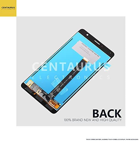 Color : Black Smartillumi for LCD Screen Replacement LCD Screen and Digitizer Full Assembly for Asus ZenFone 3 Deluxe ZS550KL Z01FD Black