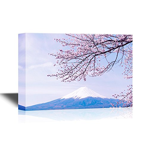 Japan Landscape Mt Fuji with Cherry Blossom Gallery
