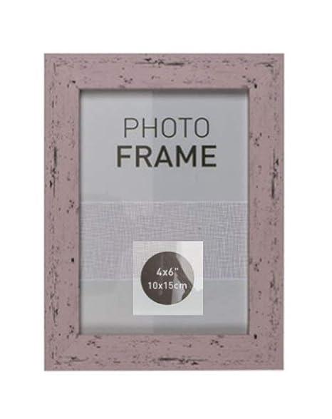 Bilderrahmen Fotorahmen Kunststoff Rahmen In Holz Vintage Optik Für