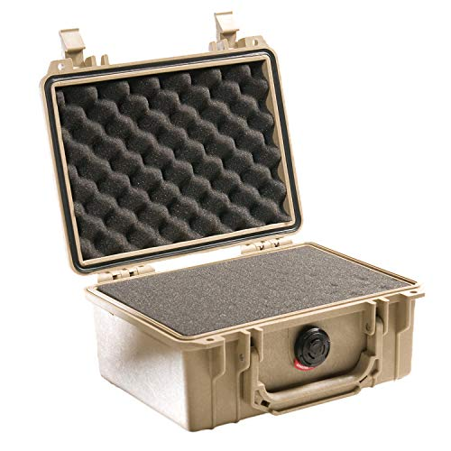 Pelican 1150 Camera Case With Foam (Desert Tan) (Storage Ammo Pelican)