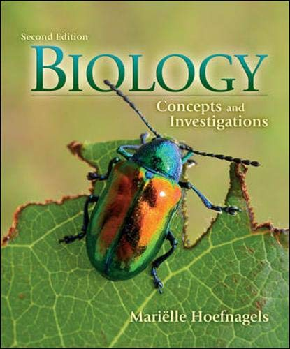 Biology: Concepts & Investigations with Connect Plus Access Card