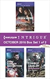 Harlequin Intrigue October 2016 - Box Set 1 of 2: Still Waters\Army Ranger Redemption\Cowboy Cavalry