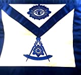D3050 Apron Masonic Past Master Imitation Leather