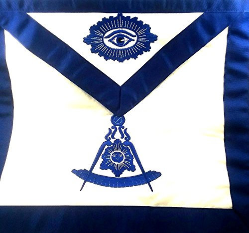 D3050 Apron Masonic Past Master Imitation Leather by DEAN & ASSOCIATES