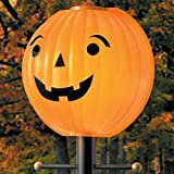 TisYourSeason Pumpkin Jack O Lantern Lamppost Lamp Cover Shade Fall Harvest Thanksgiving Decoration