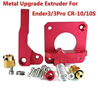 image about Ender 3 Printable Upgrades identify HICTOP Upgraded Substitution Aluminum MK8 Extruder Motivation Feed for Creality Ender 3/3 Professional CR-10/10S, CR-10 S4 S5 3D Printer