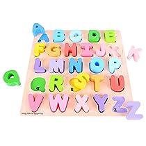 Bigjigs Toys BB055 Chunky Alphabet Puzzle
