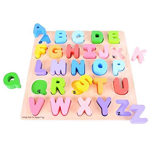 Alphabet Puzzle - Educational Jigsaw (Bigjigs Toys)