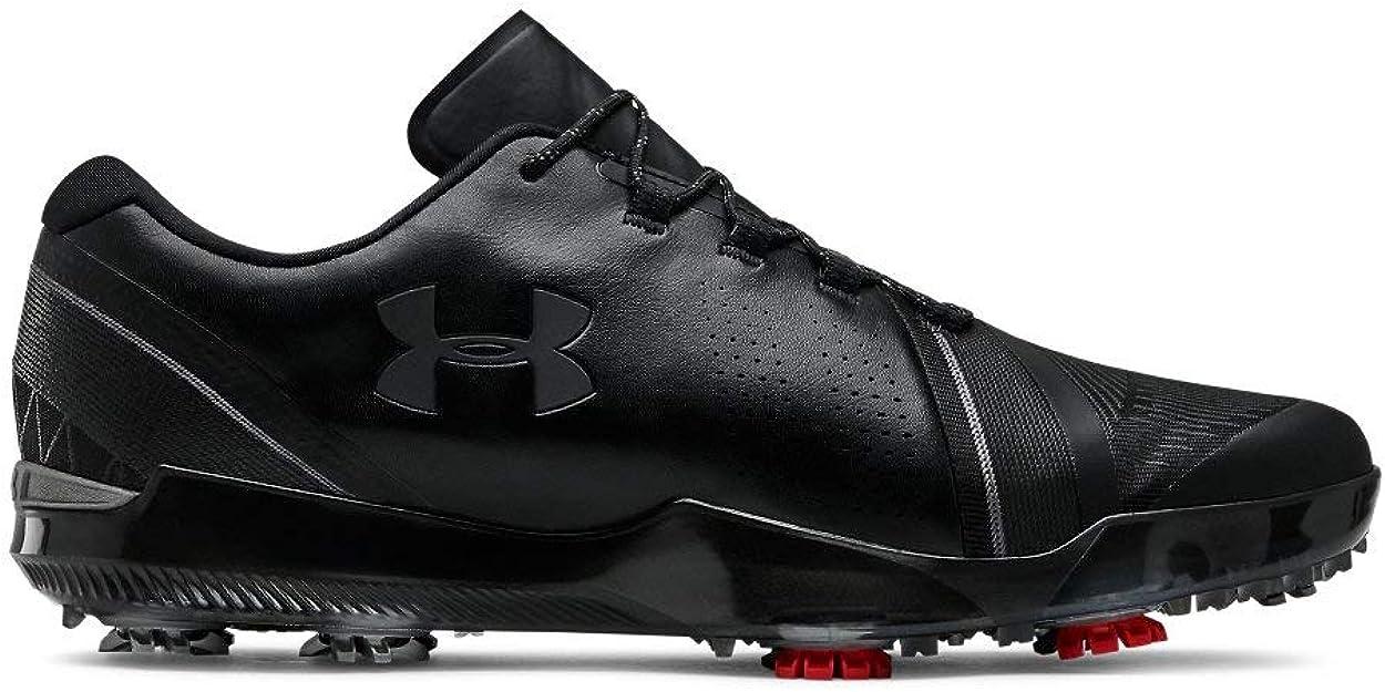 Under Armour Men's Spieth III Golf Shoe, (001)/Black, 11