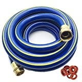 KAPOK 15FT Leader Hose Garden Hoses with Brass Fitting Connectors