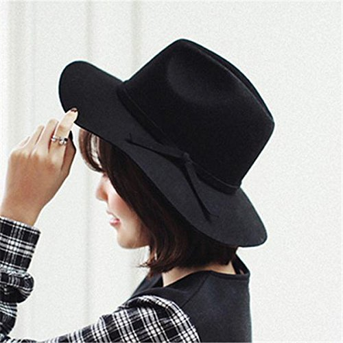 WOOLEN SUMMER WINTER WOMEN'S FEDORA HAT