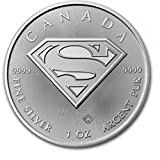 2016 Superman S-Shield 1 oz Maple Leaf Silver Coin