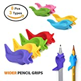 Firesara Ergonomic Pencil Grips - Designed by doctors, help all people mostWhy Choose Firesara Pencil Grip? ✔Firesara is more professional--- Firesara is totally committed to research, develop and produce professional effective pencil grip to help pe...