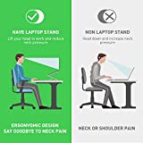 GIM Laptop Stand,Two-Layer 6+9 Adjustable Height