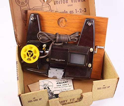 8MM MOVIE FILM EDITOR & VIEWER Eight, in Original Box from MOVIE FILM EDITOR & VIEWER