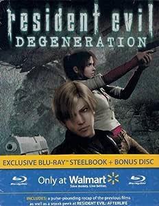 Resident Evil: Degeneration Exclusive Blu-ray Steelbook + Bonus Disc: Amazon.es: Cine y Series TV