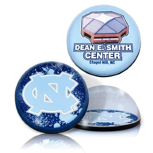 - NCAA North Carolina University Tar Heels basketball arena and Logo in 2