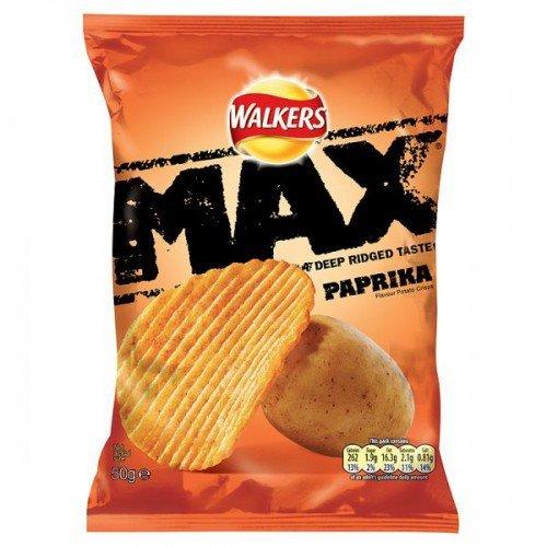 Walkers Max (50gx24) (Paprika)