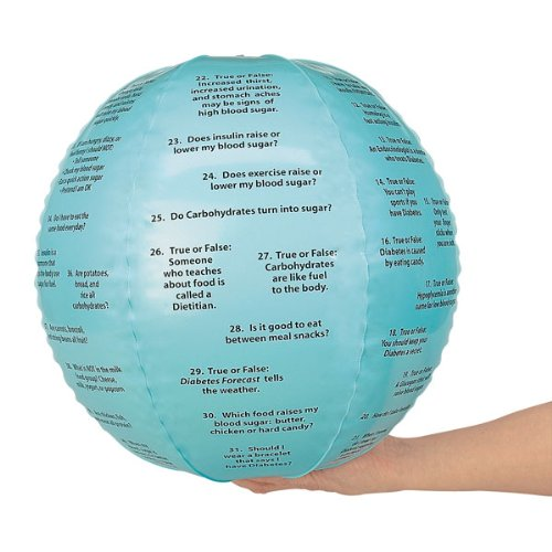 Nasco WA24122 Diabetes Toss-Up Education Ball, 15