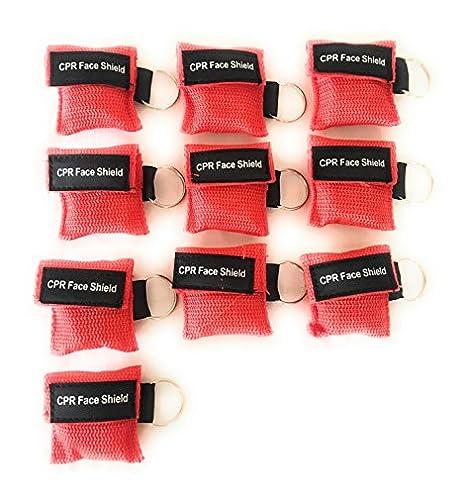 Amazon.com: RCP Máscara Llavero Kit 10 Pack Ahorro de con ...