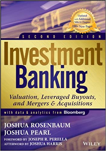 amazon investment banking valuation leveraged buyouts and