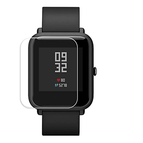 Zolimx Protector Pantalla Transparente de Protección Impermeable Película para Reloj Inteligente Xiaomi Huami Amazfit Bid Youth