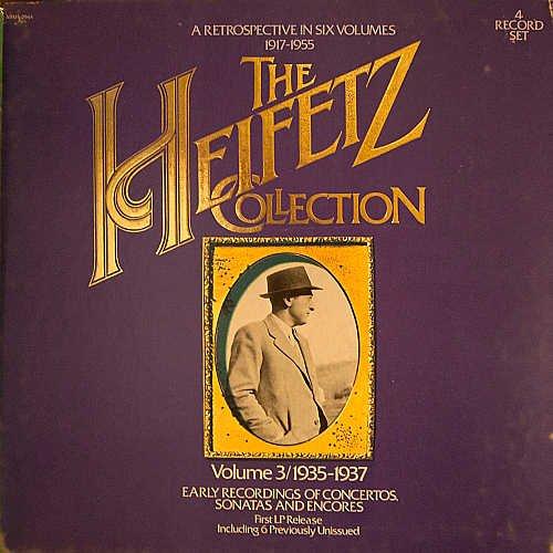 The Heifetz Collection Volume 3: 1935-1937