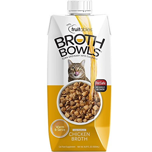 Fruitables Broth Bowls for Cats Chicken (16.9 fl oz)