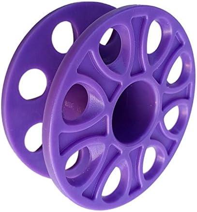 Flameer 便利 スキューバ ダイビング プラスチック コンパクト フィンガースプール リール 水中機器 全6色