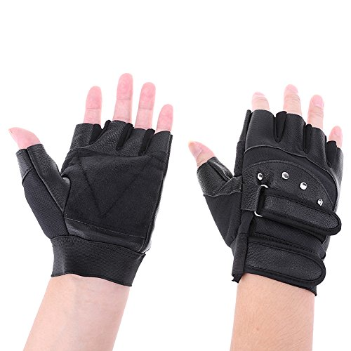 JPONLINE 1 Pair Waterproof Breathable Cycling Gloves Half Finger MTB Mountain Bicycle Gloves Men Outdoor Sports Cycling Equipment 2017New