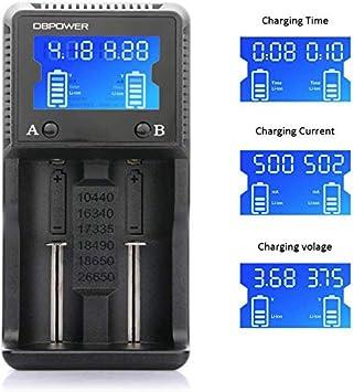 DBPOWER HXY-H2 Cargador Batería Universal Baterías ...