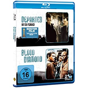 Blu ray Double Feature: Departed – Unter Feinden & Blood Diamond nur 11,54€ inkl. Versand!