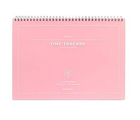 Amazon.com: PAPERIAN Believe TIME Tracker - Planificador de ...