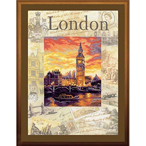 RIOLIS Cities Of The World: London Counted Cross Stitch Kit-