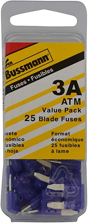 Bussmann BP//ATM-3 3 Amp Fast Acting Mini-Fuse