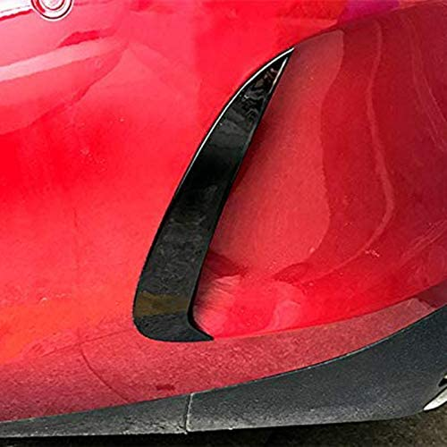 Noir ACAMPTAR Pare-Chocs Arri/ère Aileron de Soufflage de Sortie dair Garniture Accessoires de Garniture Style de Voiture pour Mercedes Classe E E Coupe C238