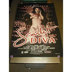 SCARLET DIVA /ORIG. U.S. ONE SHEET MOVIE POSTER (ASIA ARGENTO)