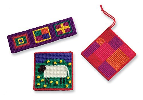 (Harrisville Designs First Needlepoint Kit, Multicolor)