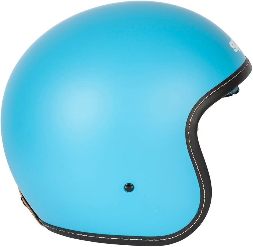 nouveau casque de moto Spada raser blanc perle