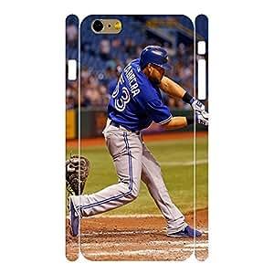 Advanced Hard Sports Series Designer Print Baseball Player Print Phone Shell Skin for Iphone 6 Plus Case - 5.5 Inch