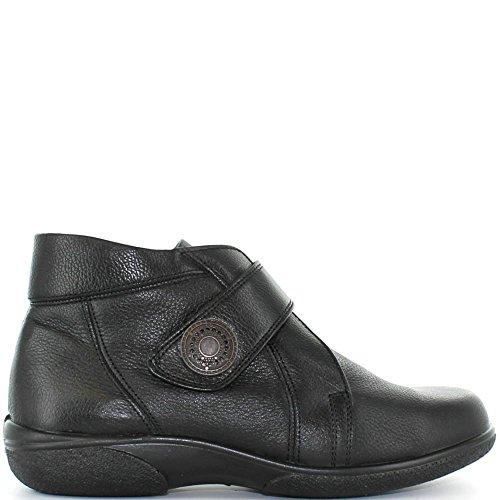 Black Boot Ladies Doris Wide 4E db Black Fitting 5TxBWFwqqY
